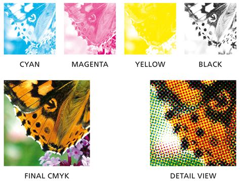 process color 4 color process printing vs spot color printing the