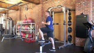weighted step up on bench step up on the bench exercise