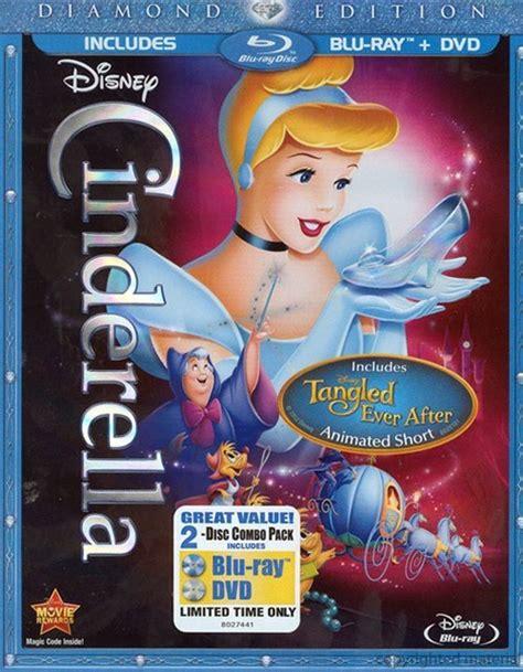 cinderella film blu ray cinderella diamond edition blu ray dvd combo blu ray