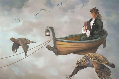 fairy boat thassos quot flight of the muse quot paul bond artwork on useum