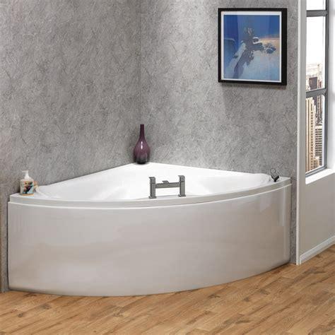 qualitex bathrooms qualitex ascent superspec missouri corner bath panel