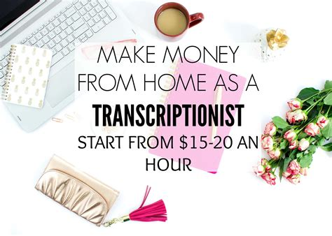 make money from home as a transcriptionist crowd work news