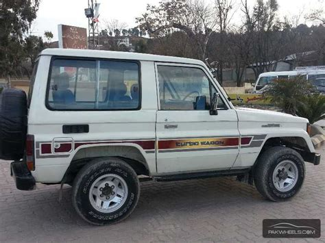 1987 Toyota Land Cruiser Toyota Land Cruiser Lx Turbo 1987 For Sale In Abbotabad
