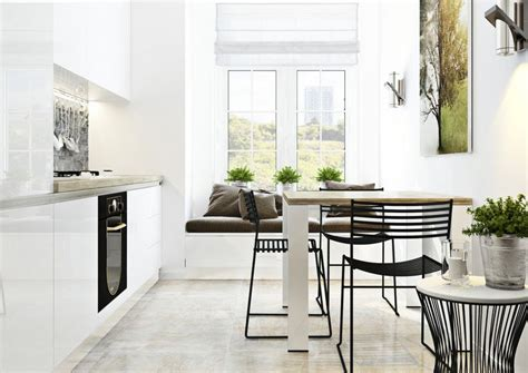 Contemporary Kitchen Island Ideas Industrialize Your Dining Room With Metal Dining Chairs