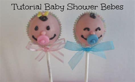 Shower Tutorial by Tutorial Paletas De Pastel Baby Shower Caritas De Bebe
