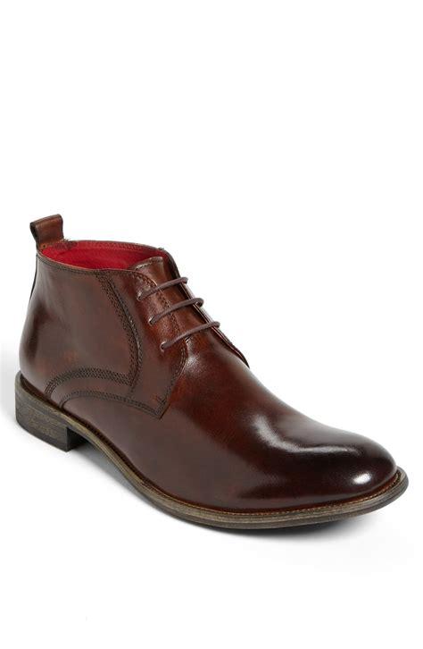 steve madden mens chukka boots steve madden bronxxx chukka boot in brown for