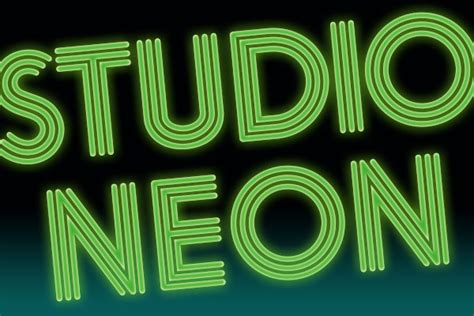 Neon Lights Font by Quality Display Fonts For Graphic Design