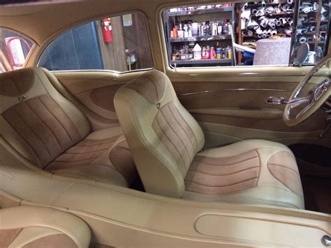 Five Interiors by Custom 55 Interior Trifive 1955 Chevy 1956 Chevy