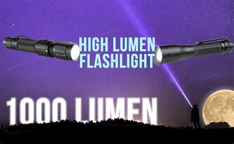 best high lumen flashlight best 1000 lumen high lumen flashlight rangermade
