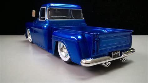 124 Chevy Stepside Brown camioneta clasica azul a escala 1 24 chevy stepside 1955 70 000 en mercado libre