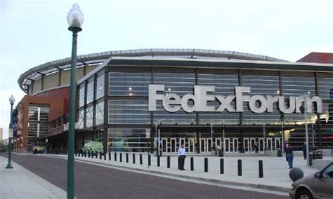 fedex forum home of the grizzlies