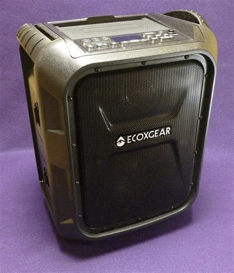 Large Kitchen Knives ecoxgear ecoboulder bluetooth speaker review the gadgeteer