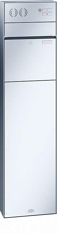 briefkasten freistehend 1403 briefkasten aus edelstahl vom hersteller renz