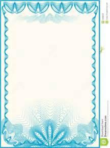 certificate border letter stock vector image of cartoon
