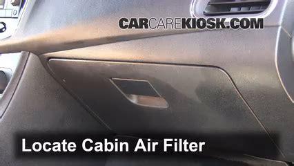 chrysler  cabin air filter check
