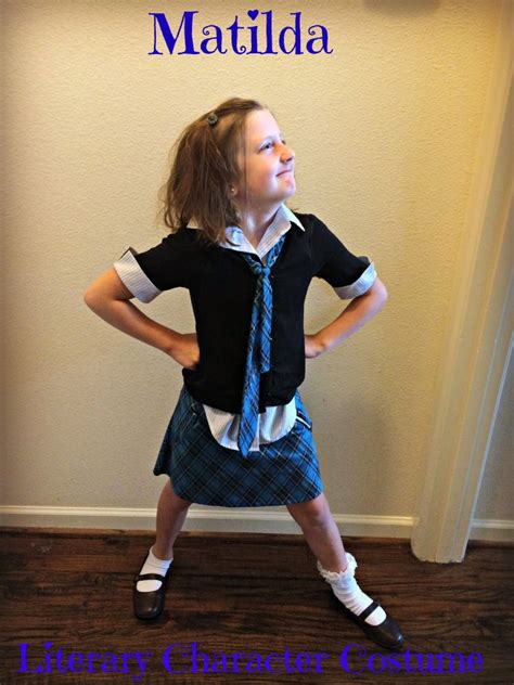 tips   roald dahls matilda costume everyday
