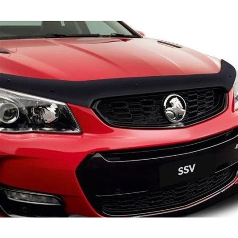 holden parts and accessories tinted bonnet protector suitable for holden commodore vf