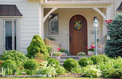 Front Porch Landscaping Ideas Front Yard Landscaping Front Door Garden Design