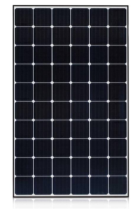 lg mono x black solar panel
