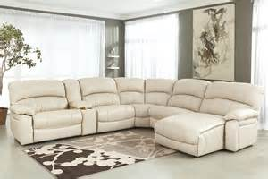 Lounge Sectional Living Room Decor With Black Leather Sectional Chaise Sofa
