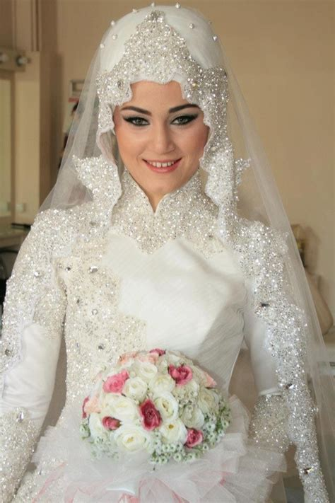bridal hijab styles designs 2016 2017 archives