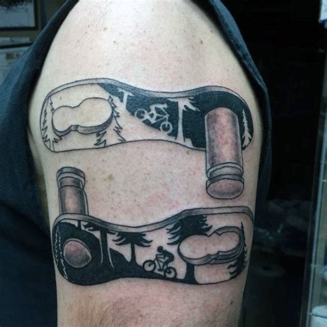 bicycle tattoos design 70 bicycle designs for masculine cycling ideas