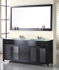 60 inch modern sink bathroom vanity in espresso