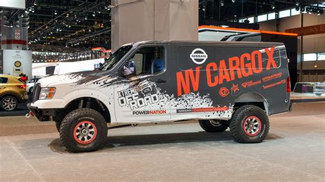 Nv Cargo X nissan nv cargo x is roader and support vehicle all in one