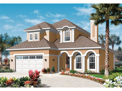 florida home styles fern pointe florida style home plan 032d 0786 house