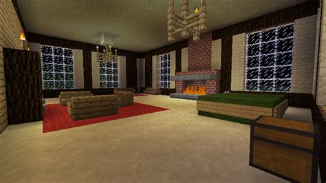 minecraft living room by coolkitt2 on deviantart