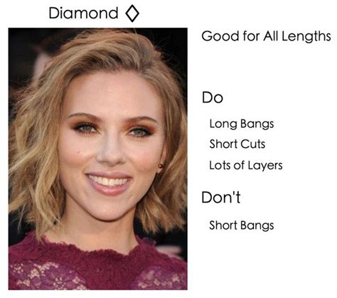 hairstyles for curly hair diamond face shape photos of diamond shaped faces short hairstyle 2013
