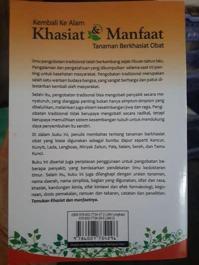 Manfaat Dan Obat Cataflam buku khasiat dan manfaat tanaman berkhasiat obat jilid 2 toko muslim title