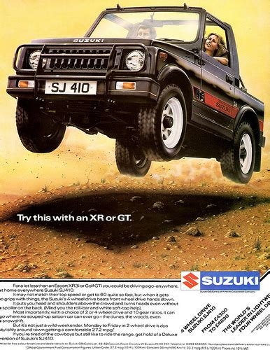 all car manuals free 1986 suzuki sj engine control 1984 suzuki sj410 4wd alden jewell flickr
