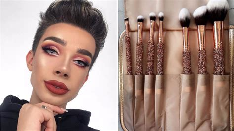 james charles palette name of shades morphe s holiday 2017 collection is rose gold glamour