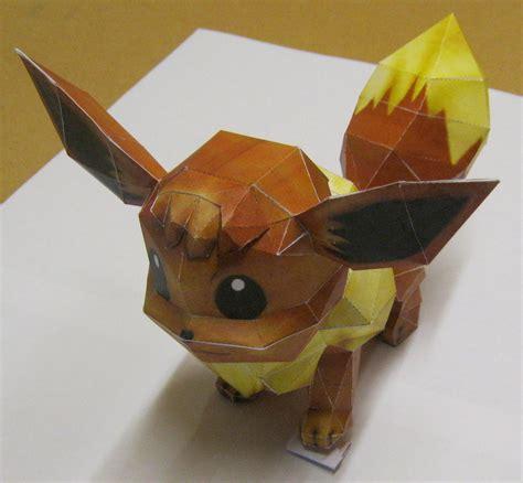 Eevee Origami - eevee paper craft by tbterra on deviantart