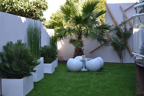 Amenagement Exterieur Jardin Moderne by Cr 233 Ation Et Am 233 Nagement D Un Jardin Moderne Marseille