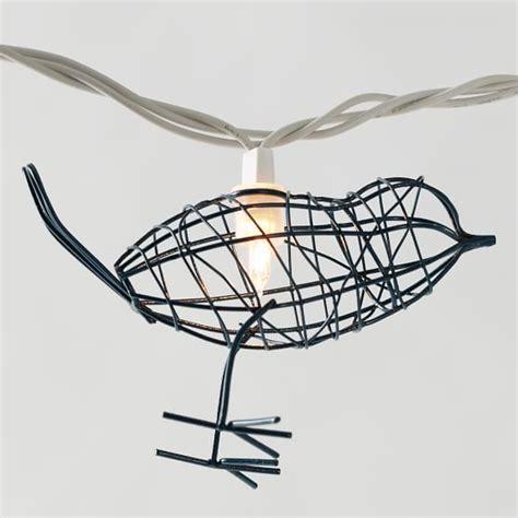 Bird String - bird cage string lights pbteen