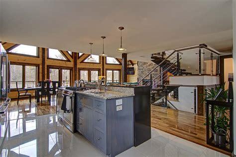 log home design tips tips to design the ultimate log home kitchen timber block