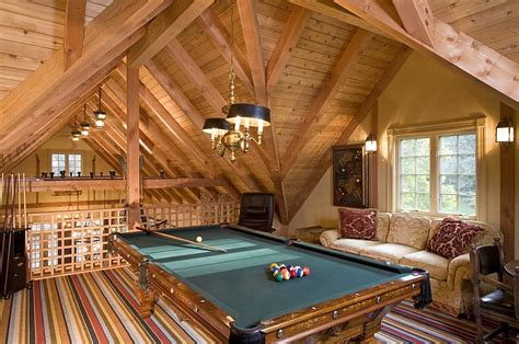 attic area how to transform your attic into a fun game room
