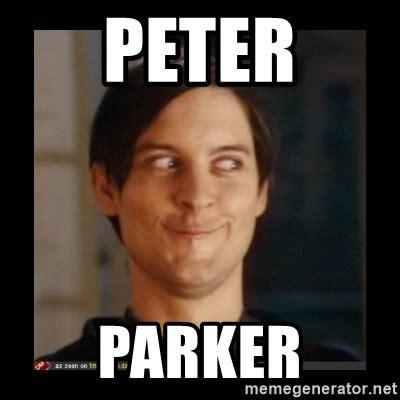 Peter Meme - peter parker tobey maguire meme generator