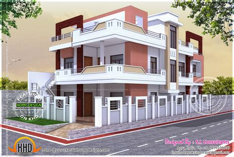 floor plan of indian house kerala home design and