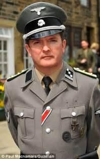 haworth's 1940s weekend sees men turn up in full nazi