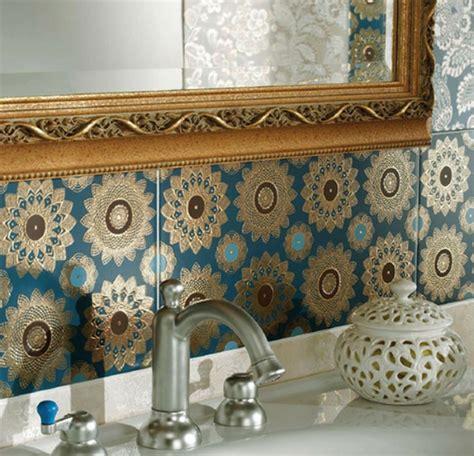 Moroccan Tile Kitchen Backsplash marokkanische fliesen faszinierende fotos archzine net