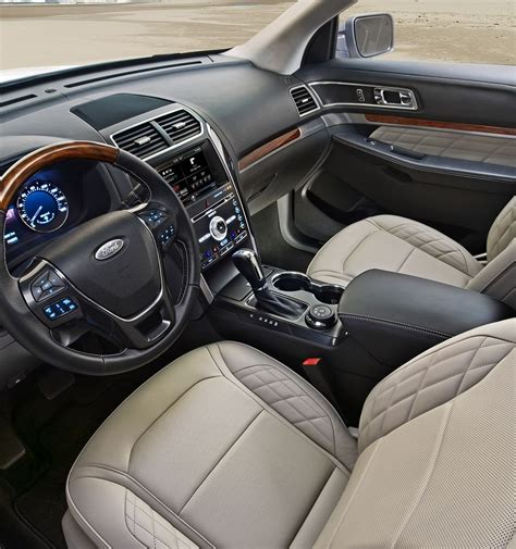 ford explorer 2017 interior 2017 ford 174 explorer suv features ford com