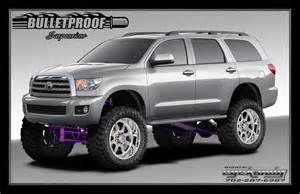 Toyota Sequoia Lift Kit 2008 2014 Toyota Sequoia 10 12 Inch Lift Kit Bulletproof