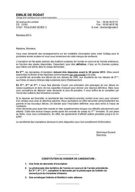 Lettre D Information Coll 232 Ge