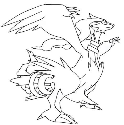 reshiram pokemon coloring page reshiram coloriage pokemon l 233 gendaire reshiram 224