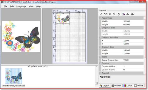 uv layout software free download t shirt printing solution with magic white ink