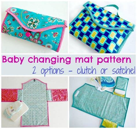 Mat Sewing Pattern by Baby Changing Mat 2 Options By So Sew Easy Craftsy