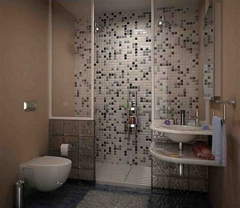 shower wall tile design with mosaic tile ideas for small bathroom home interior exterior